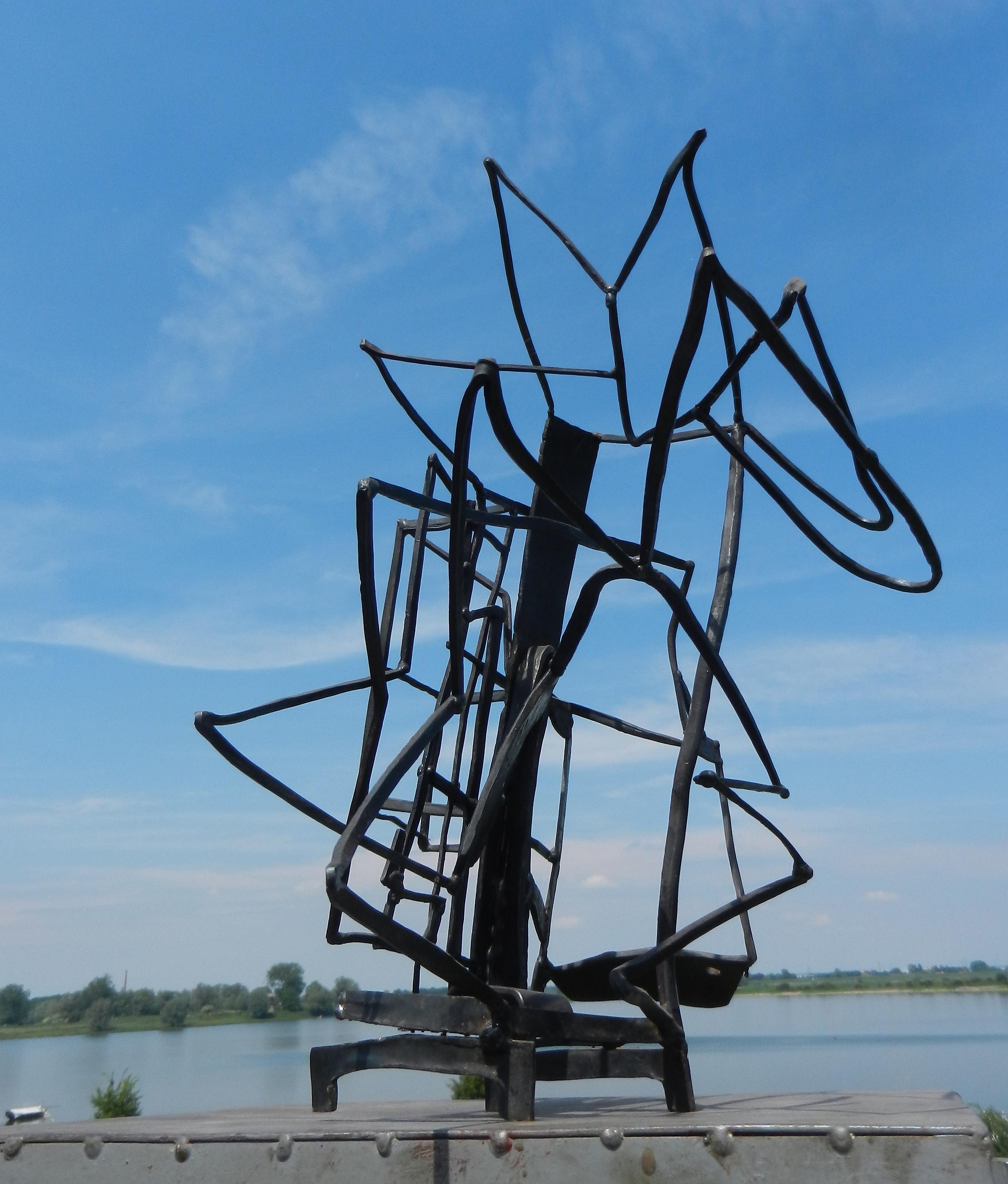 beeld van staal
